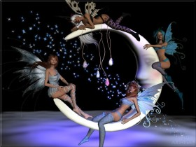 Faerie Moon Angels Image-31000